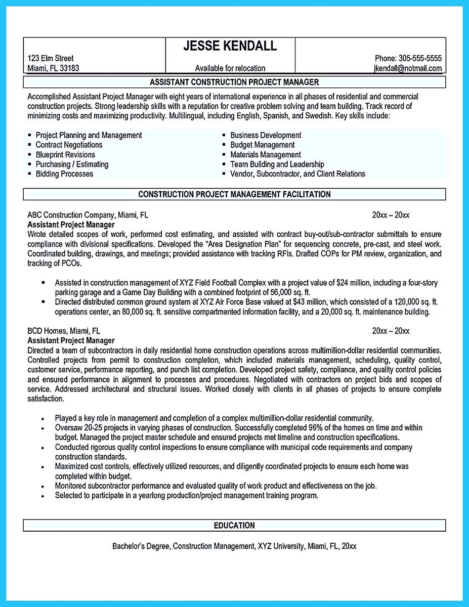 Nice Writing A Great Assistant Property Manager Resume Project Manager Resume Resume Objective Examples Manager Resume