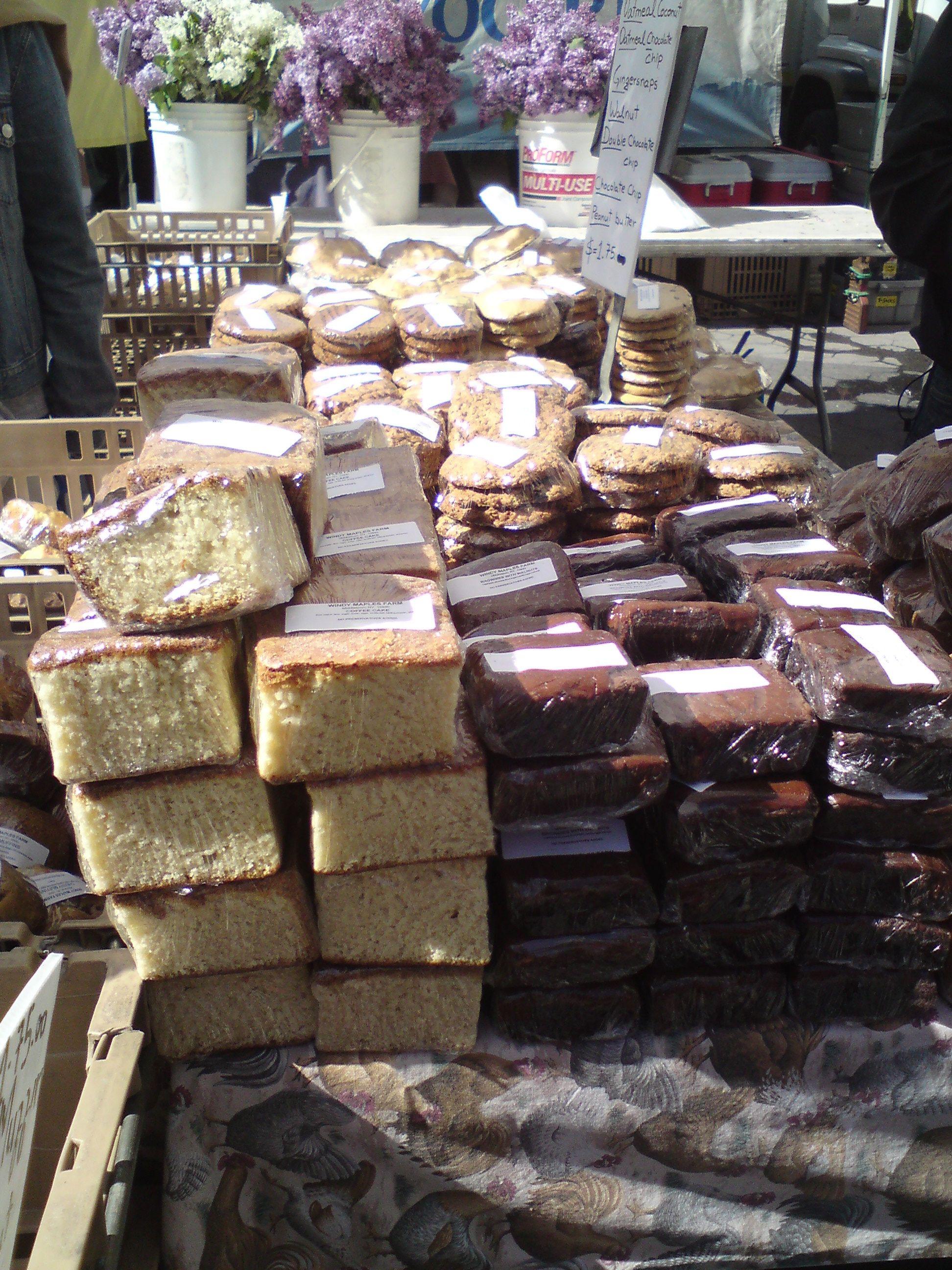 Eco markt midden in NY 2010