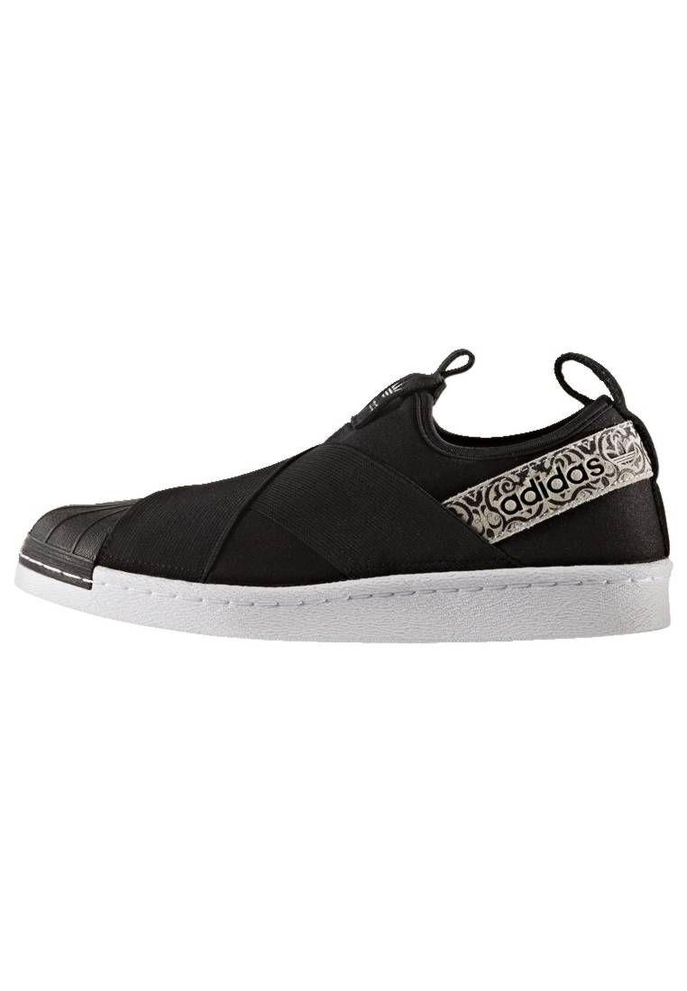plain black adidas trainers womens