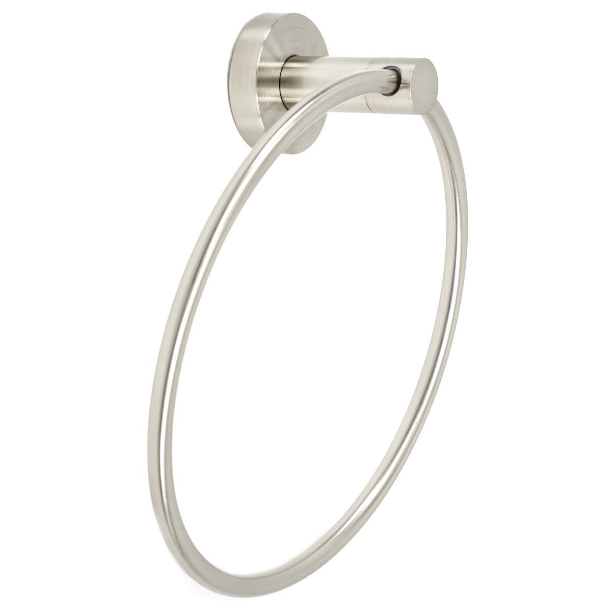 Overstock Com Online Shopping Bedding Furniture Electronics Jewelry Clothing More Towel Rings Brushed Nickel Bathroom Holder
