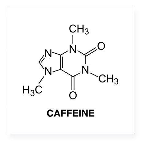 Photo of CaffeineMol2A Square Sticker 3″ x 3″ Caffeine Molecule Square Sticker 3″ x 3″ by Funny – CafePress