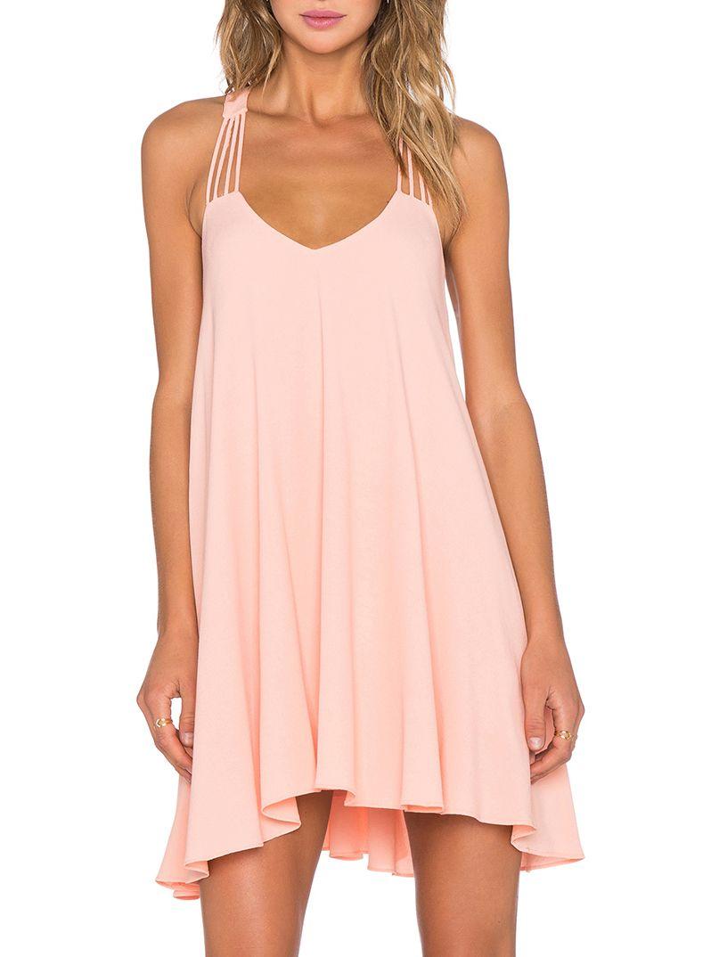 Open Back Pleated Slip Dress | Me gustas, Estilo y Ropa