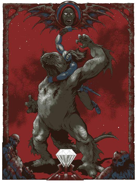 XombieDIRGE : Defeat of Dagoth (Conan The Destroyer) by ARIK ROPER #conan