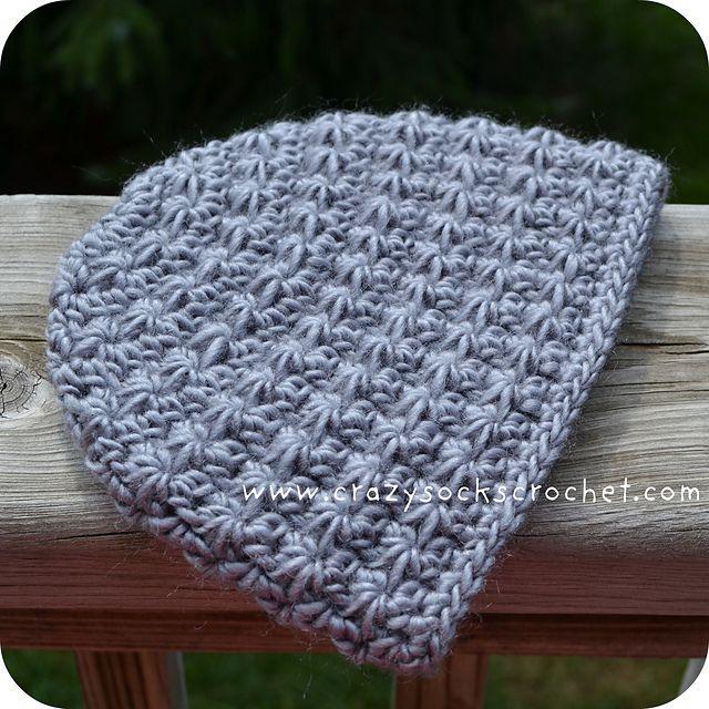 Ravelry  Stella Hat - star stitch beanie pattern by Danyel Pink 263cfcc3fb7