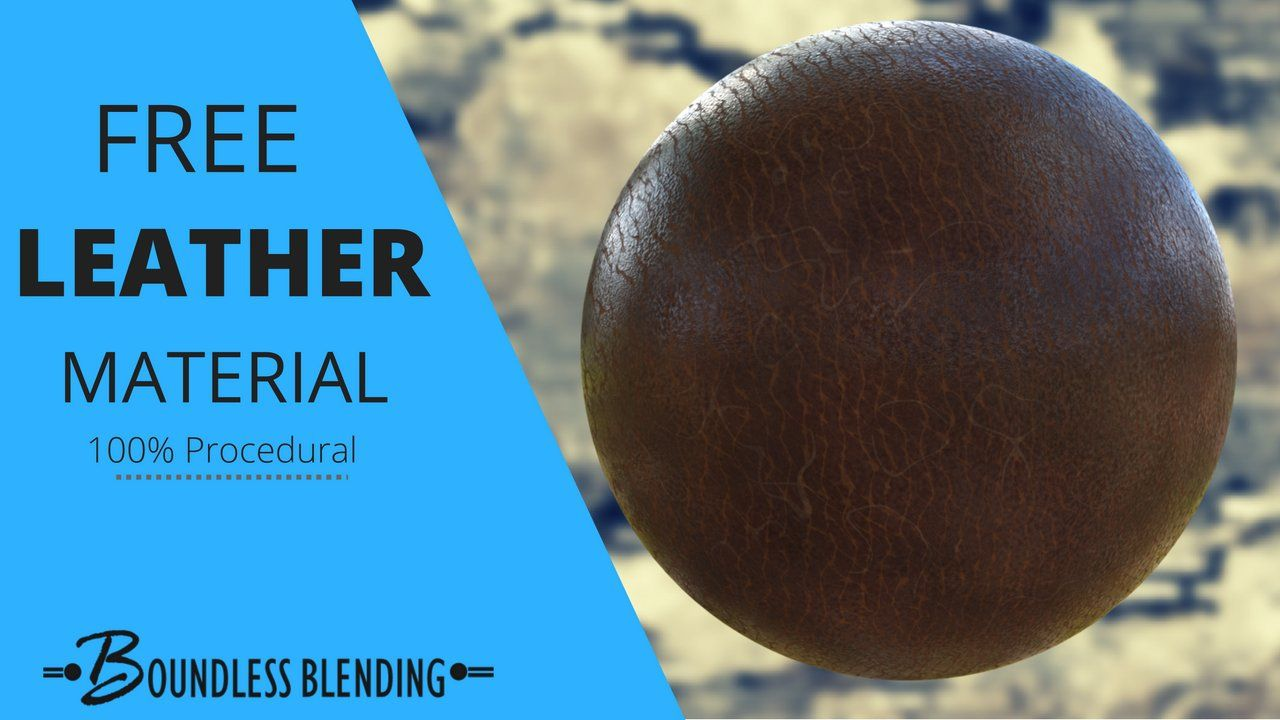 Giveaway Leather Material Procedural
