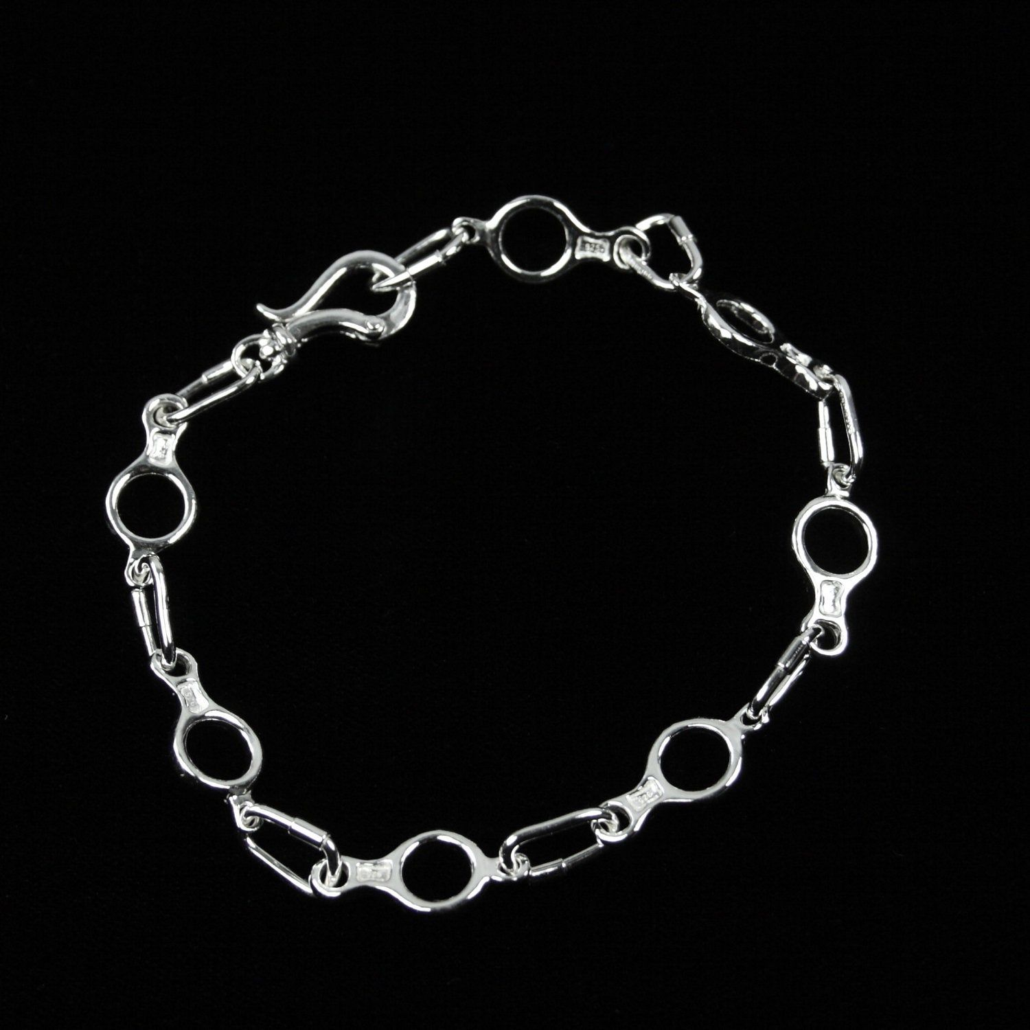 Base Metal Carabiner Chain Catches for Jewellery Making Choose Your Finish