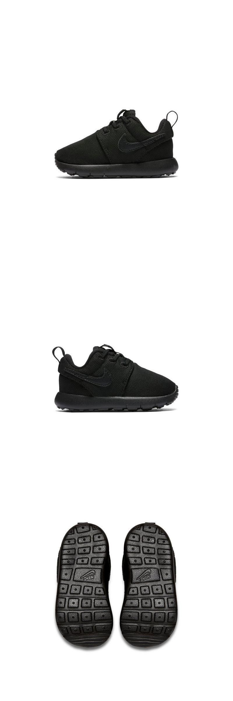 5f0e8ceb1ba Baby Shoes 147285: Nike Roshe One Triple Black Toddler Kids Casual Shoe  Sneaker Size 5C-10C New -> BUY IT NOW ONLY: $29.99 on #eBay #shoes #roshe  #triple ...