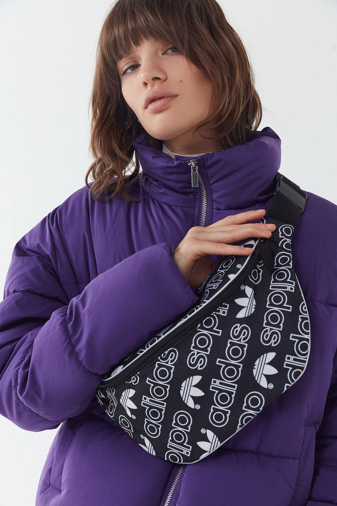 buy popular 21755 d31c4 adidas Branded Belt Bag   Urban Outfitters