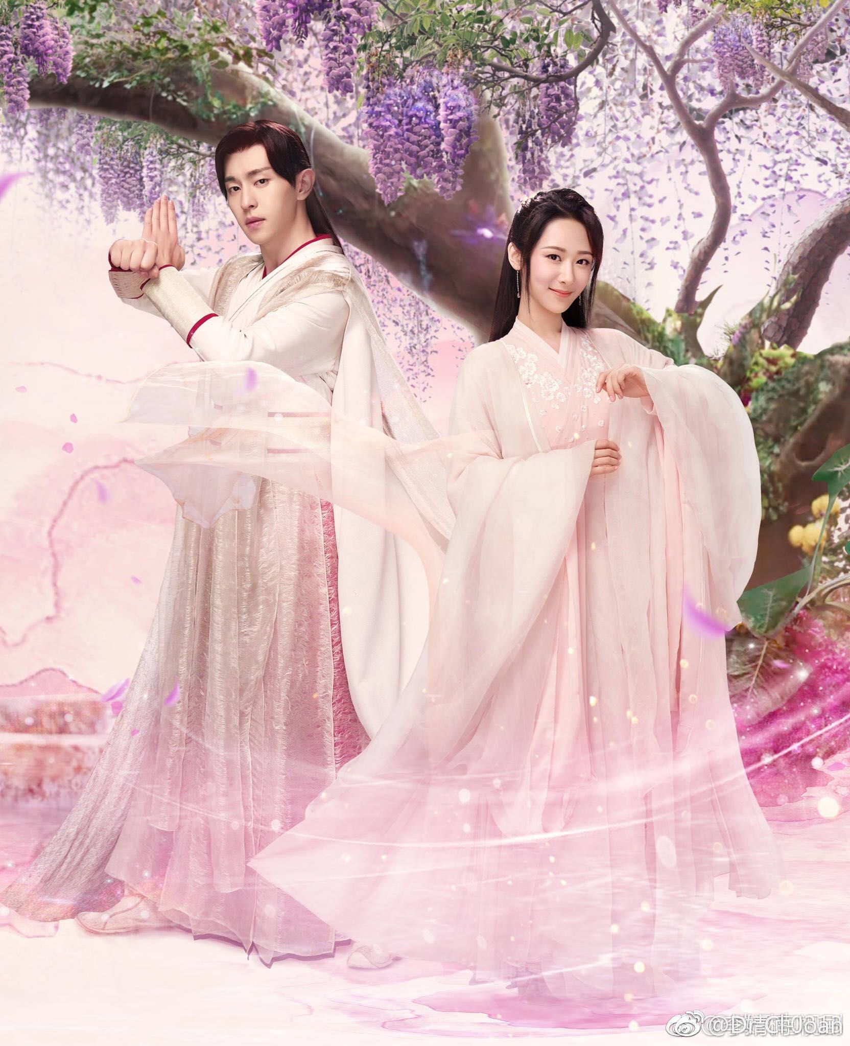 Jin Mi & Xu Feng From Ashes Of Love 2018 TV Show