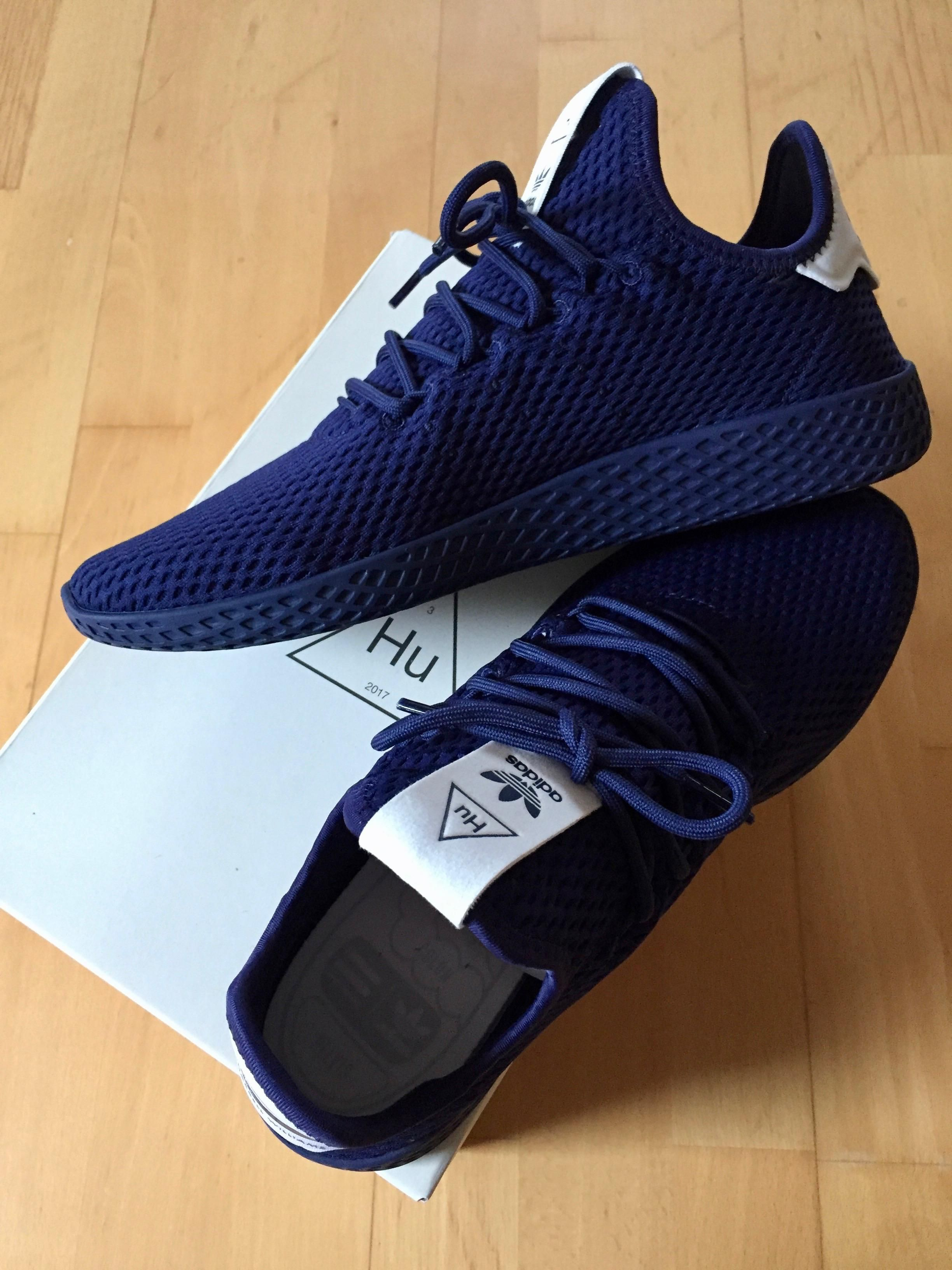 pickup] pharrell x adidas tennis hu pacchetto solido marina nike.