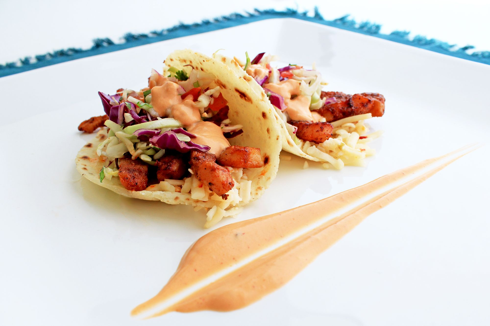 Here we have a duo of our tacos de calamar representing the final two times we will be serving this delectable June special, which is tonight & Monday for lunch.  Try it soon!  This evening 5:30P to 8:30P we will be at the Laguna Niguel Summer Concert Series (Crown Valley Community Park, 29751 Crown Valley Parkway #LagunaNiguel CA).  Hope to see you there.  More: http://www.sohotaco.com/2014/06/27/we-will-be-serving-our-taco-de-calamar-only-two-more-times-try-it-tonight  #tacocatering…