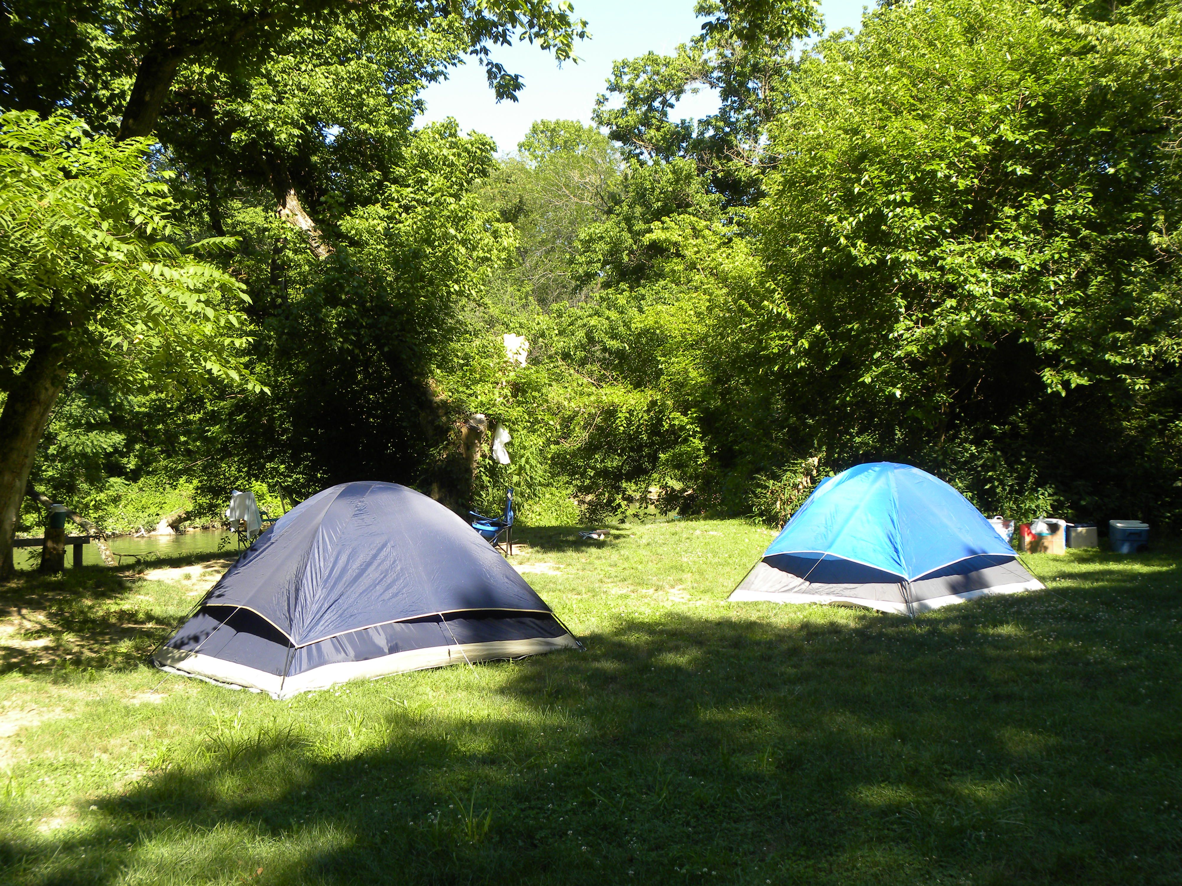 Tent Camping - Hocking Hills Canoe Livery   Tent camping ...