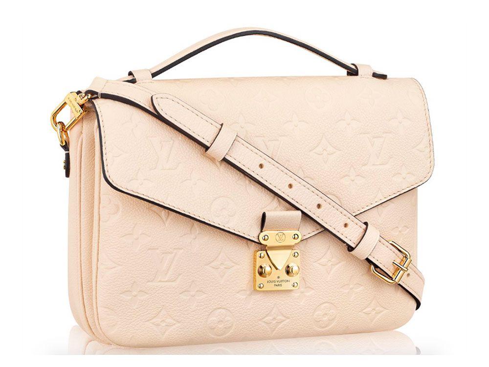 0194d838ba89 The Super Popular Louis Vuitton Pochette Métis Now Comes in Leather -  PurseBlog