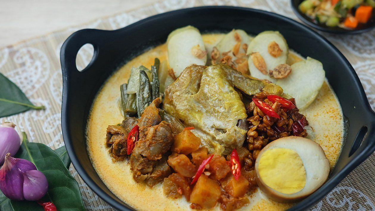 Lontong Cap Gomeh Unilever Food Solutions Id Resep Masakan Korea Resep Ayam Makanan