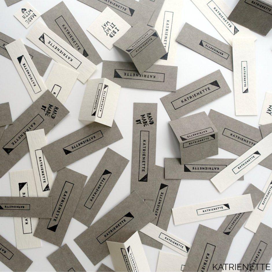 Verwonderend Tutorial: zelf je labels maken   Zelf kledinglabels maken, Zelf JO-02