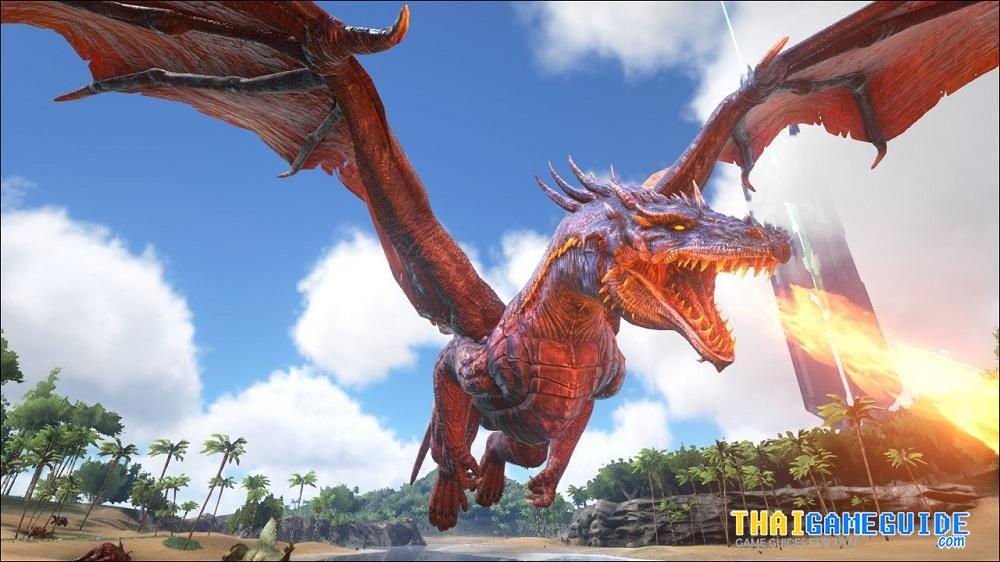 ark survival evolved deer ARK-Survival-Evolved-The-Dragon-06 - new blueprint ark survival