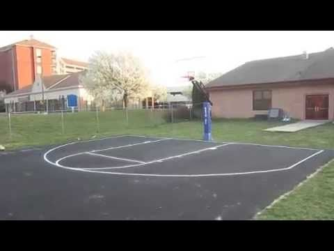 Installing a basketball court in your backyard, if you can afford it, is  absolutely awesome. I've constructed a few and decided to give you some  pointers to ... - Backyard Basketball Court Options Home Court Hoops Things I Love