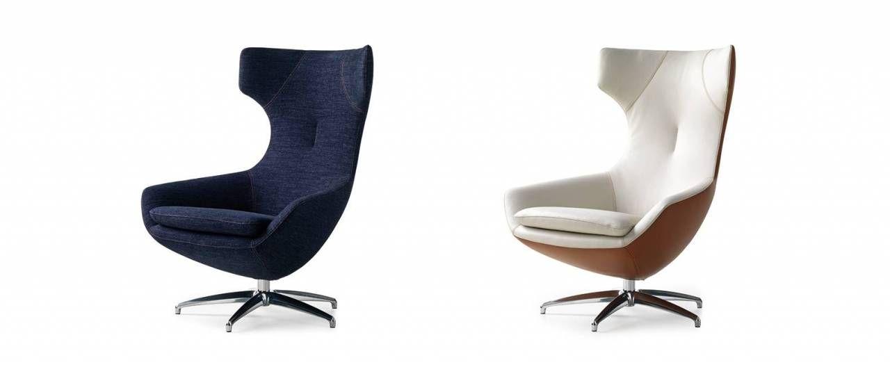 Design fauteuil caruzzo van leolux with leolux tango for Tweedehands design fauteuil