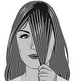 how to cut a fringe yourself