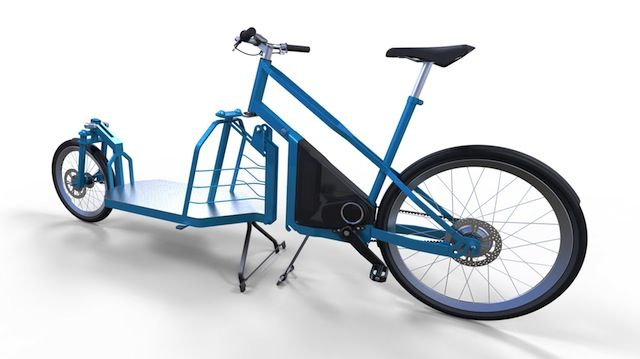 Modular Electric Cargo Bike Design From Italy Electric Bike