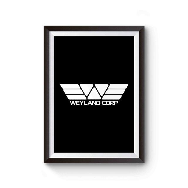Weyland Corp Alien Movie Prometheus Nostromo Poster Aliens Movie Poster Movies