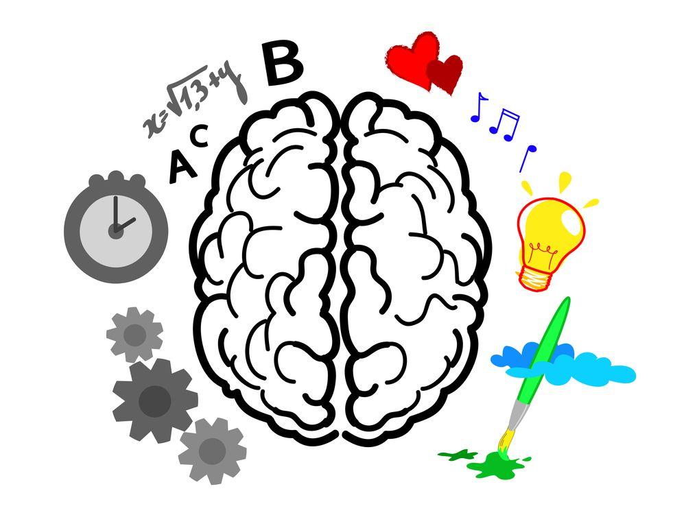 Easy to remember left brain, right brain! via @DMScott | Content ...