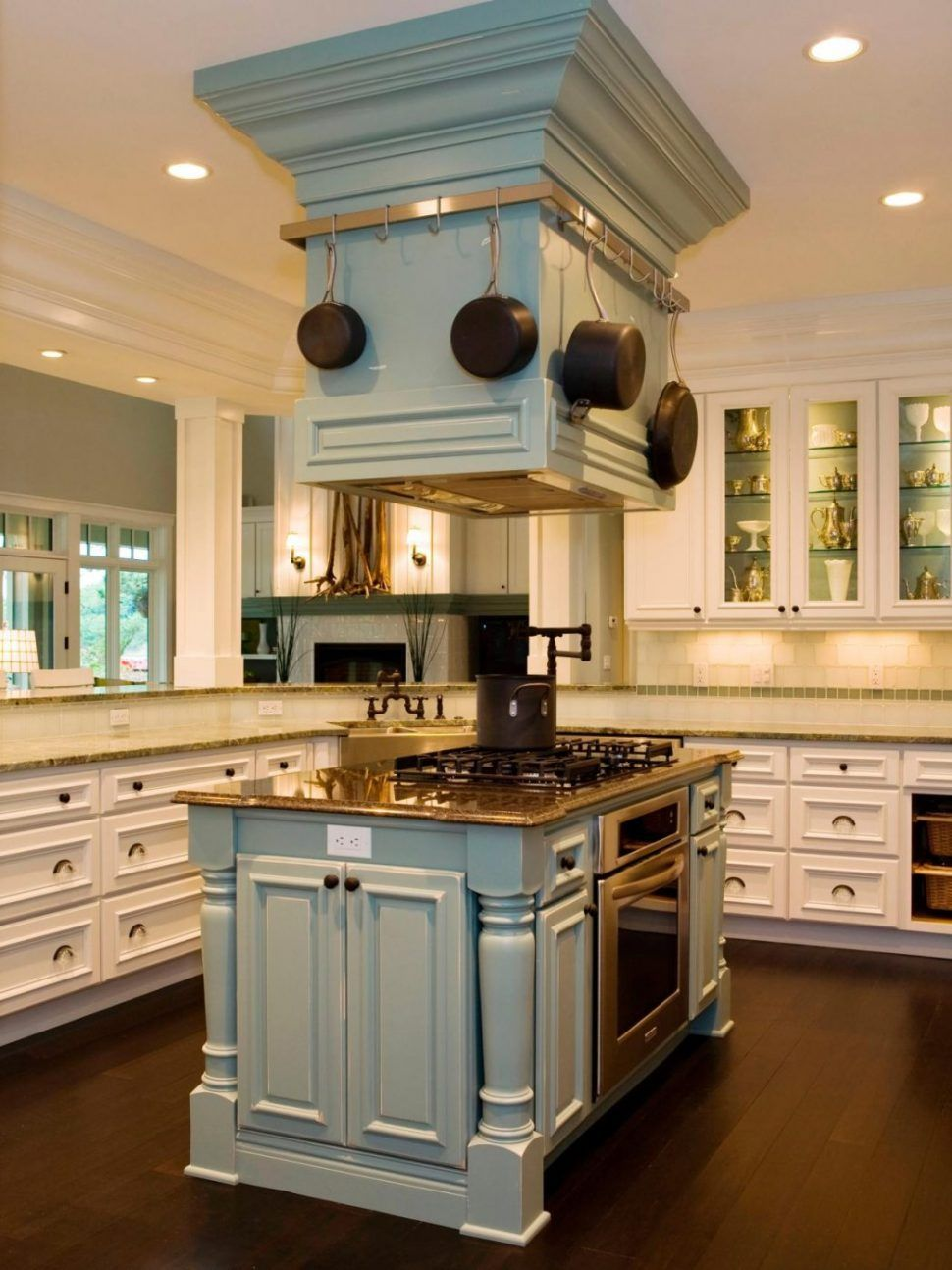 kitchen island with oven plans gas stove top built cooktop vent ...