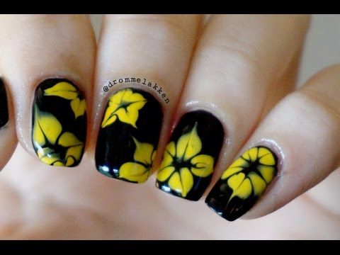 No Special Tools Needed Toothpick Nail Art Marble Nails In
