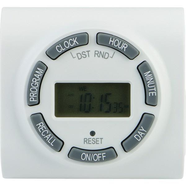 GE 15089 7-Day Digital Outlet Timer