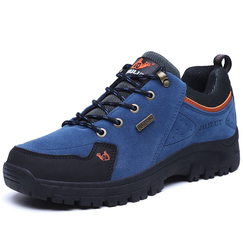 6e5b7afbaf 2017 New Outdoor Hiking Shoes Mens Winter Sneakers Unisex 4 Color Available  Velvet Optional