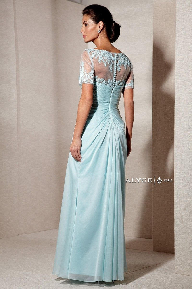 6ad81836fb14 Alyce Paris Mother of the Bride - 29580 Dress in Seabreeze | CoutureCandy