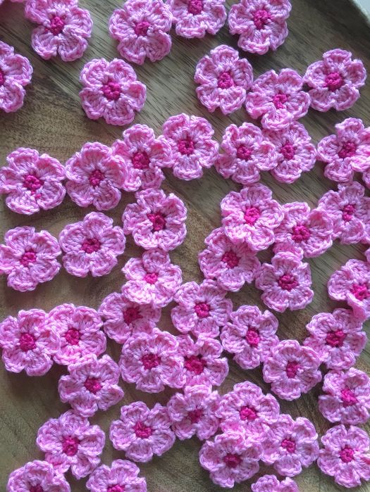 Mit Hand und Herz: Kirschblüten | Häkeln | Pinterest | Kirschblüten ...