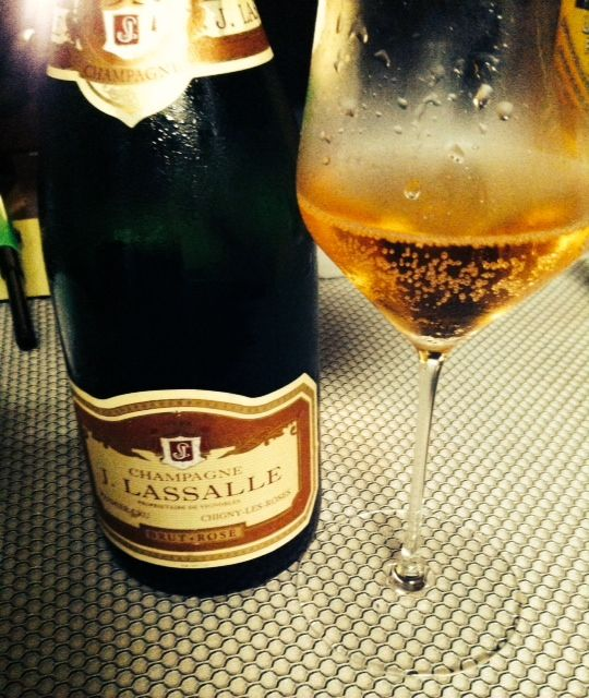 J. Lassalle Rose for New Year's AM