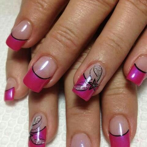 pinhaley ruhl on nails  pink acrylic nails easy