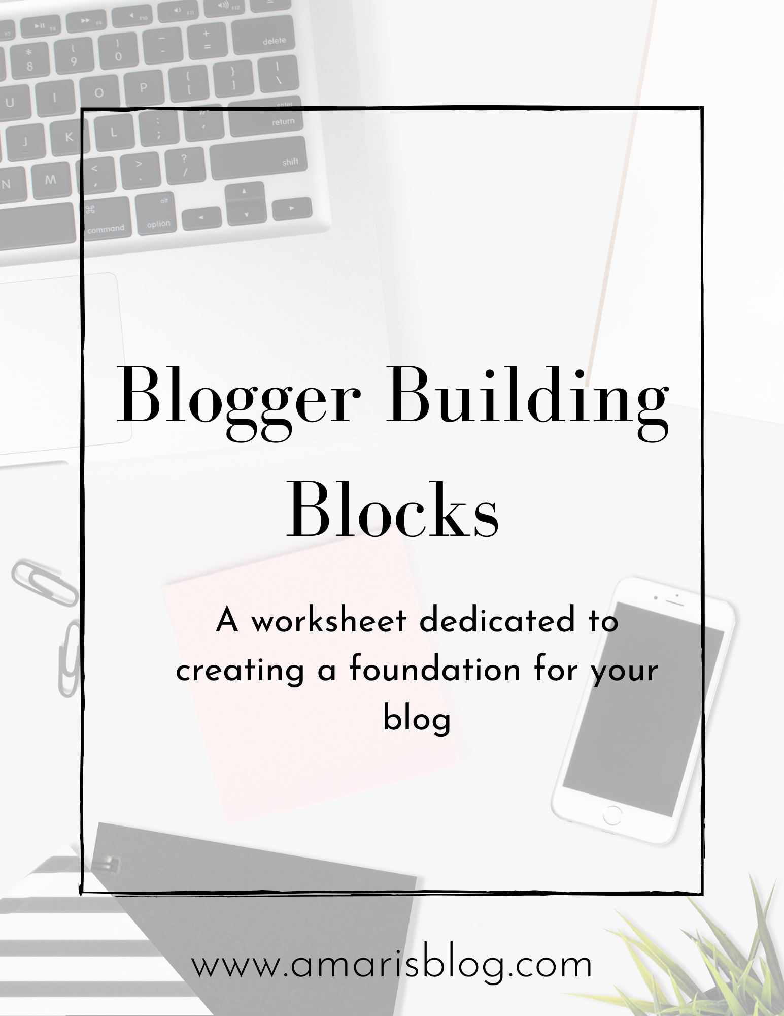 The Blogging Build Blocks Worksheet Will Help You Get