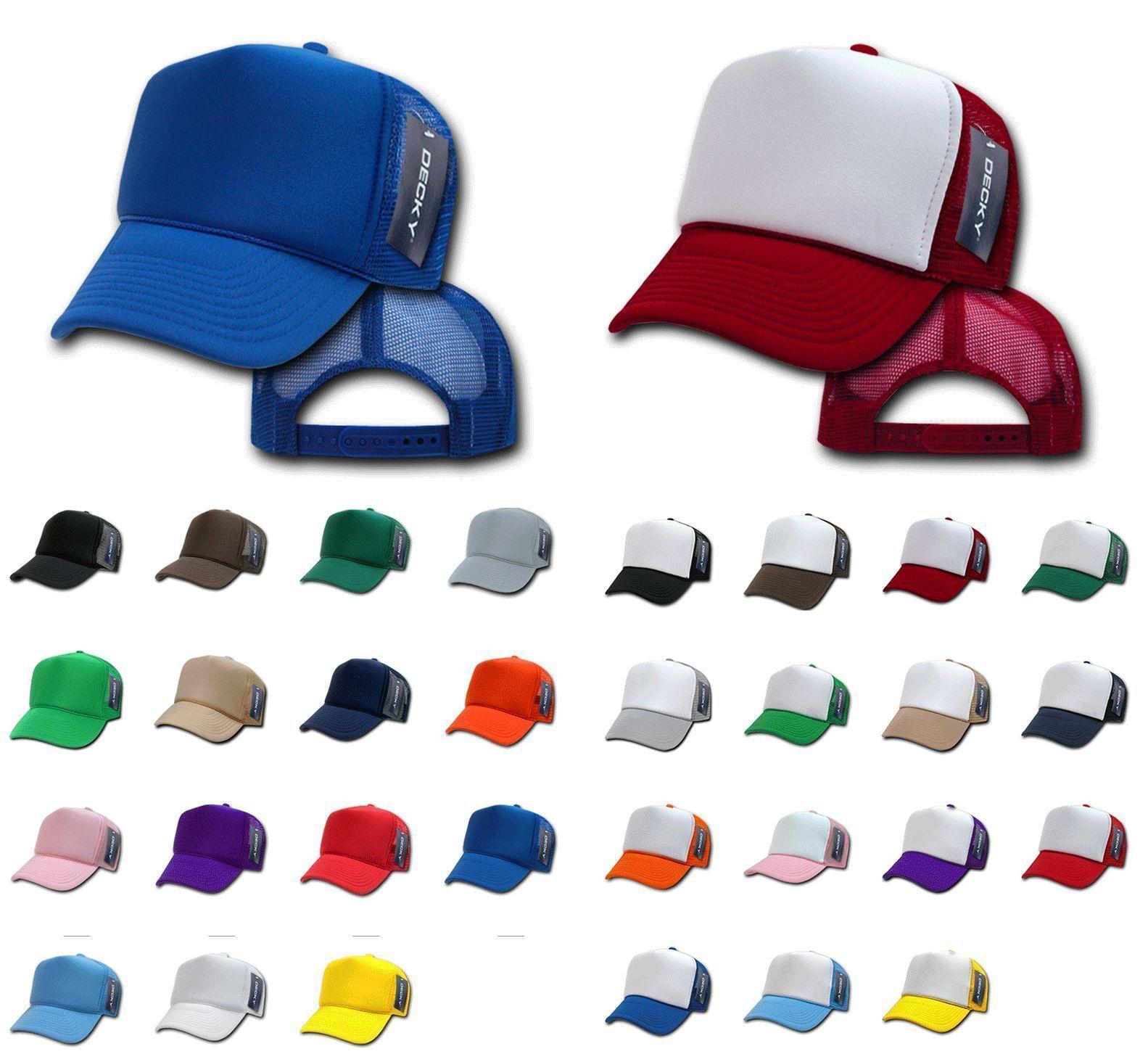 296ba3c818c 100 Decky Vintage New Trucker Hat Hats Cap Caps Snapback Wholesale Bulk Lot