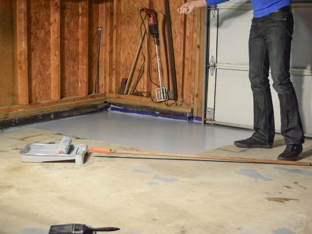 How to Paint a Garage Floor With Epoxy in 2020 Garage