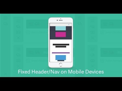 How to Make Your Divi Header & Nav Menu Fixed on Mobile