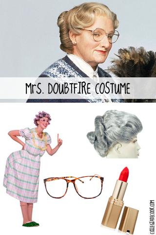 Diy Mrs Doubtfire Costume
