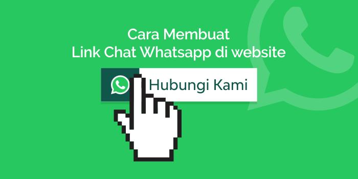 Membuat Link Direct Chat Ke Whatsapp Website Blog Komunikasi