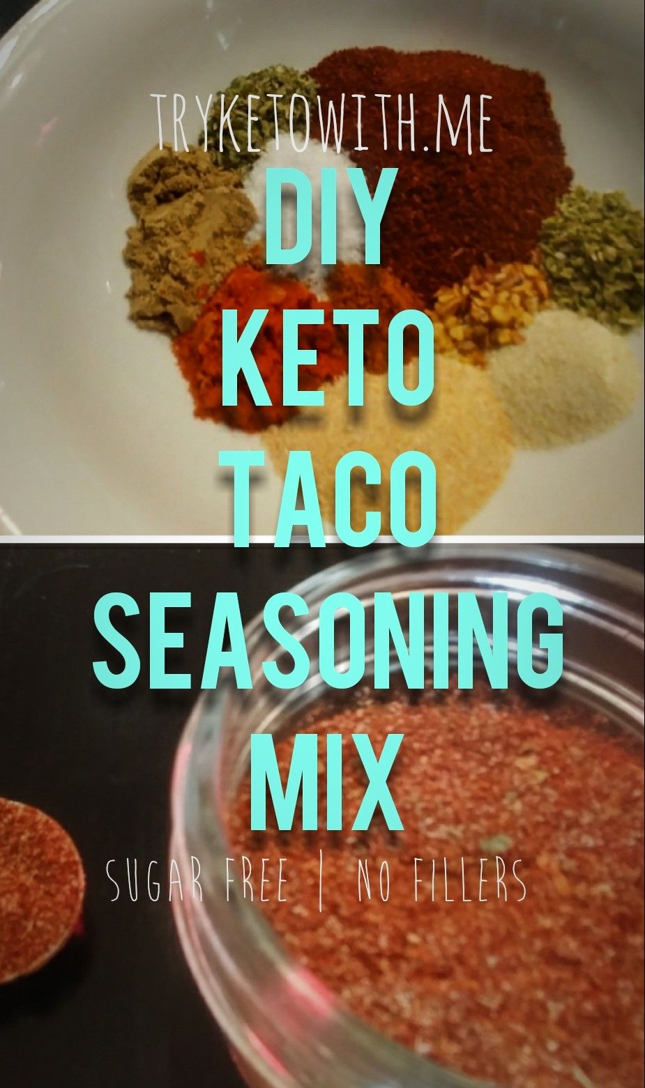 DIY Keto Taco Seasoning Mix #diytacoseasoning