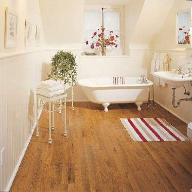 Traditional Living Seasoned Cherry Premium Laminate Flooring Sam S Club House Flooring Laminate Flooring Flooring