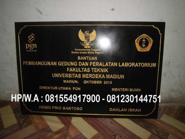 Jual Prasasti Granit Prasasti Granit Jakarta Harga Prasasti Granit