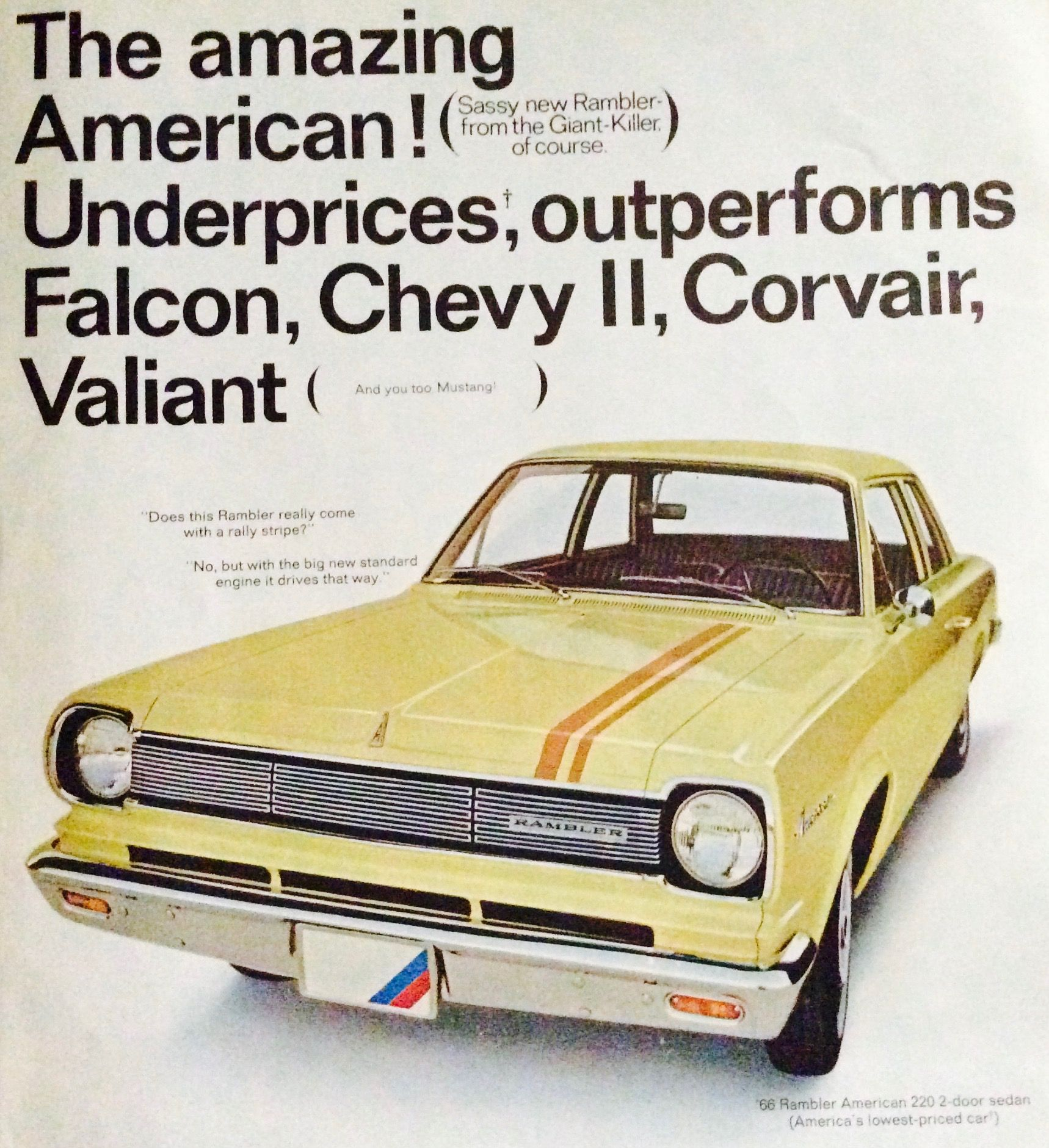 1960s #vintage #magazine #ads for #Rambler!! | Wheels That Define ...