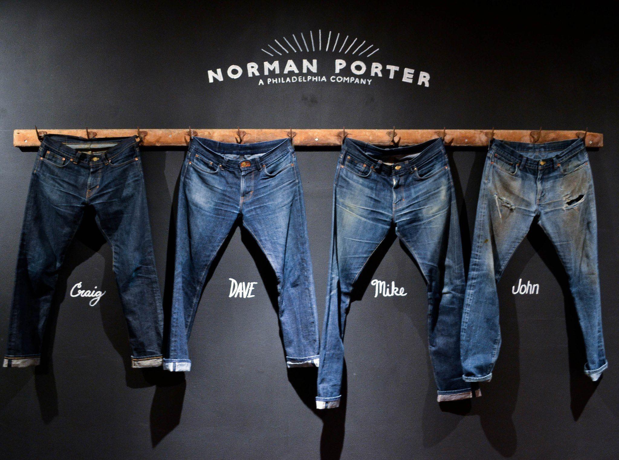 norman porter jeans logo - Google Search