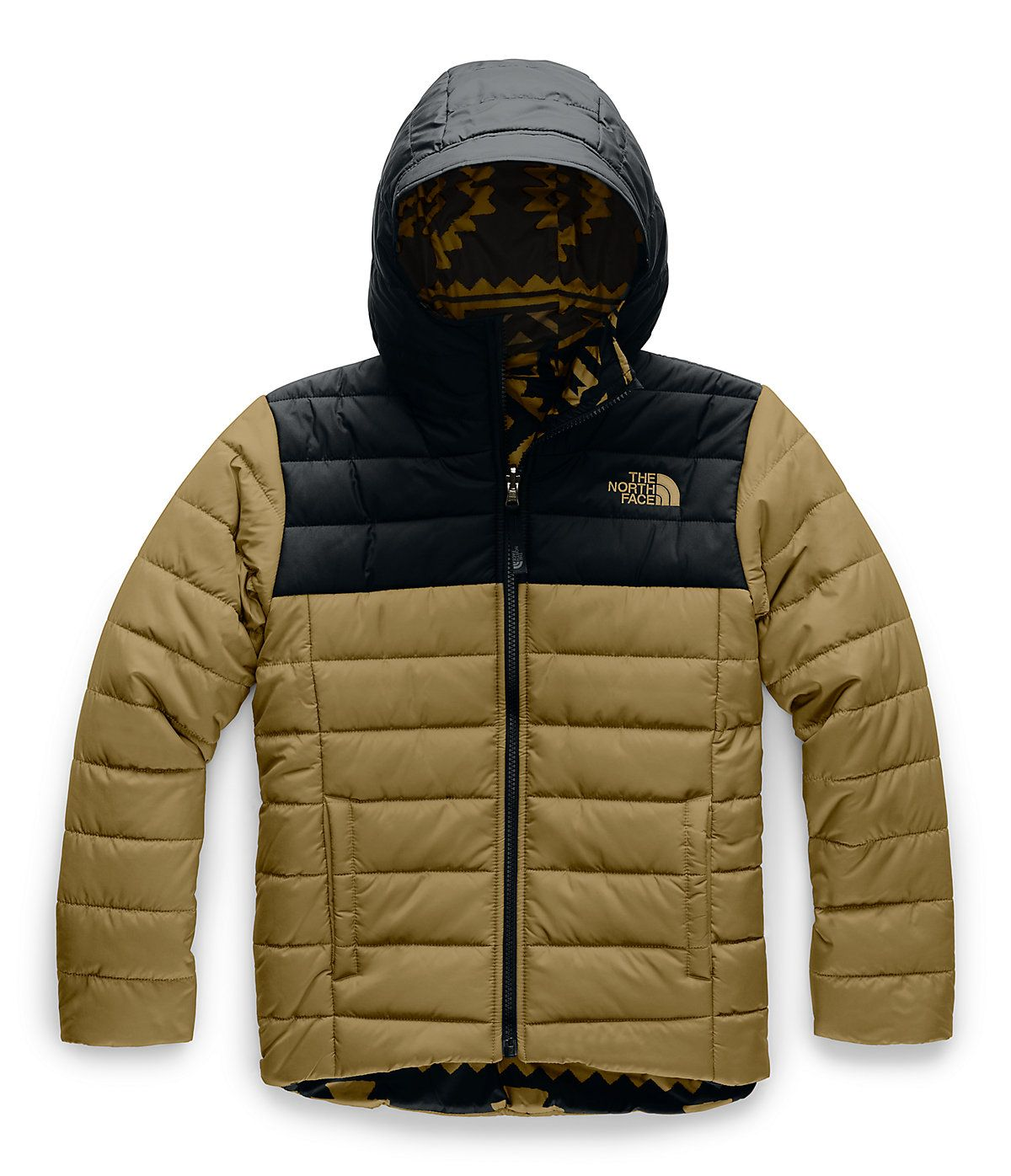 Boys Reversible Perrito Jacket The North Face Custom Leather Jackets Boys Jacket The North Face [ 1396 x 1200 Pixel ]