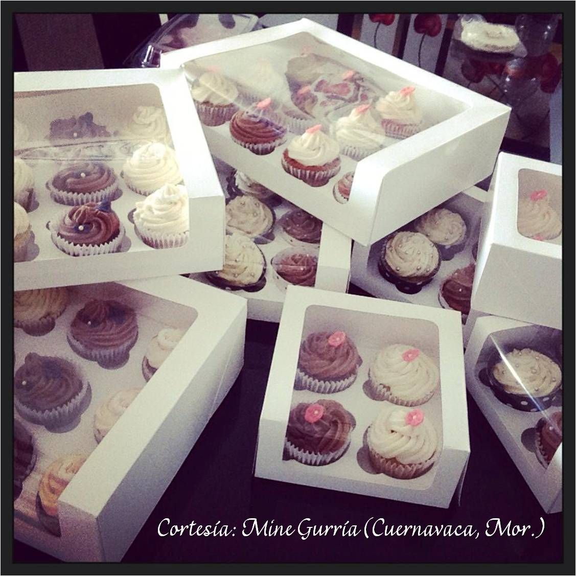 Cajas para Cupcakes en diferentes tamaños. Contáctanos: http://www ...