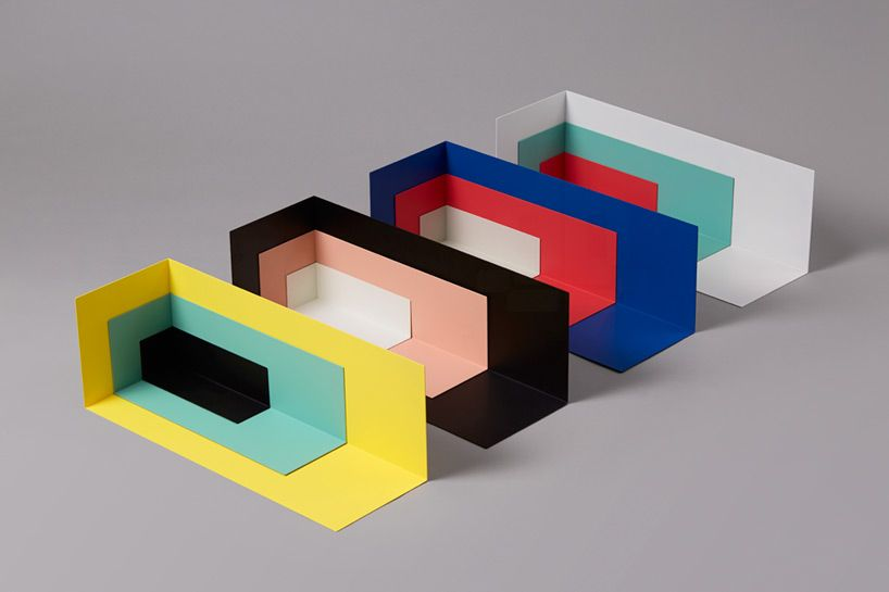 Colorful Corners By Kyuhyung Cho Vividly Shelve Your Objects Interior Design Magazine Design Article Furniture