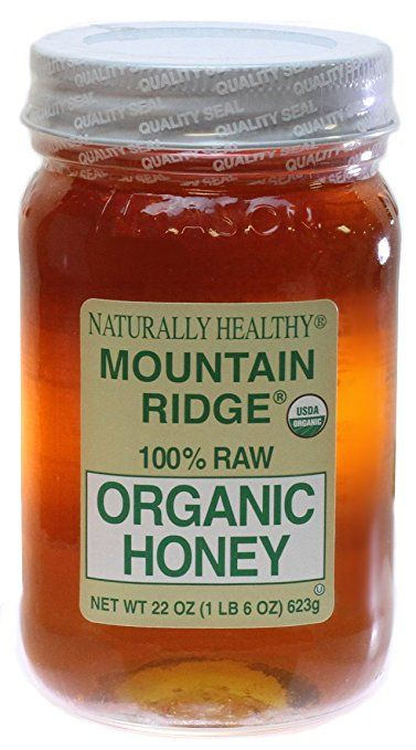 100 pure raw chunk honey comb in jar of raw honey 1 lb - 377×679