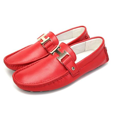 ca872d0be10 Hermes Dress Shoes For Men Red